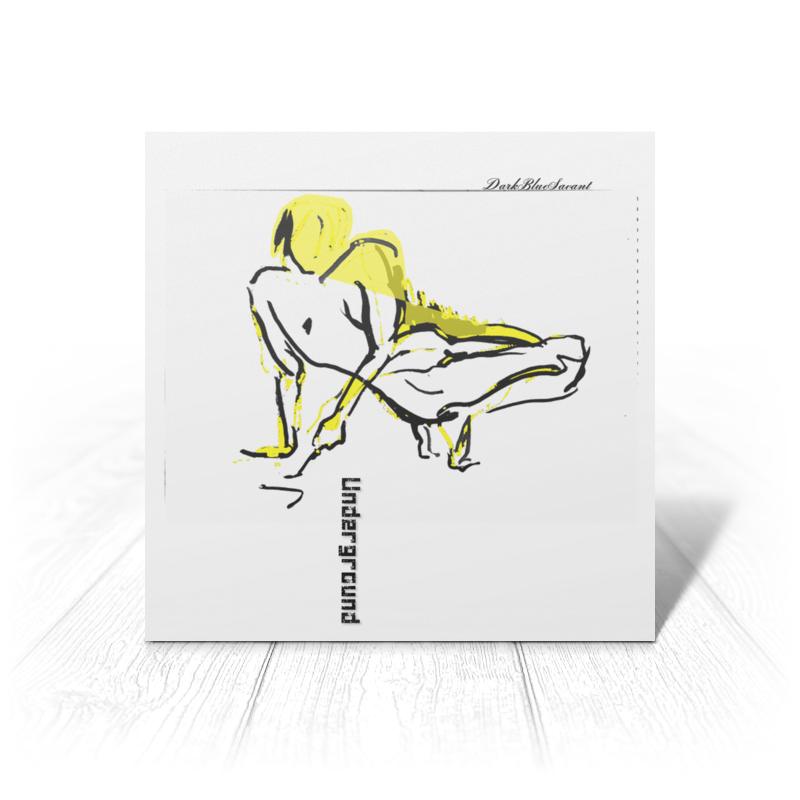 Открытка Printio Андеграунд поп-арт арт дизайн подарочный набор открытка с ручкой самой фееричной тебе