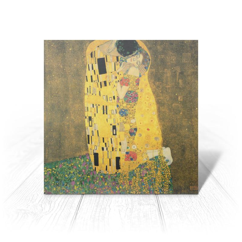 Printio Поцелуй (картина климта) картина поцелуй