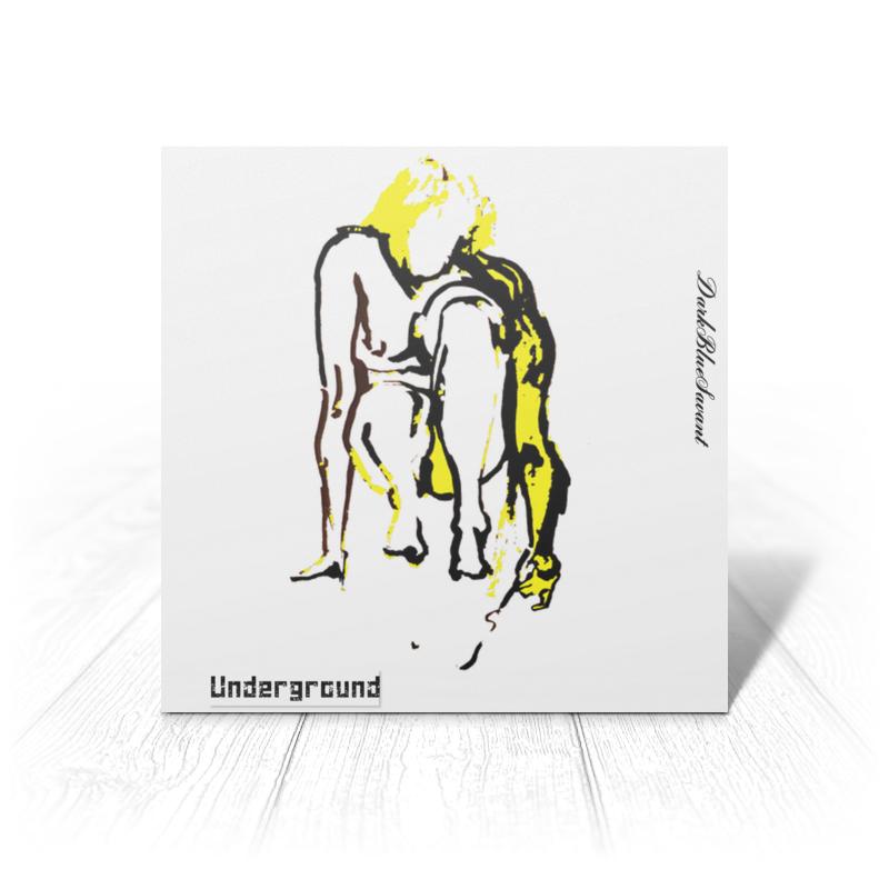 Открытка Printio Yellow velvet velvet underground velvet underground velvet underground 180 gr