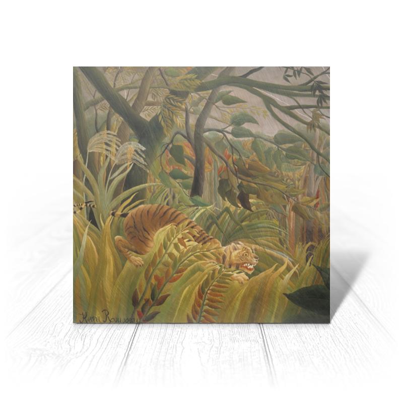 лучшая цена Printio Нападение в джунглях (картина анри руссо)