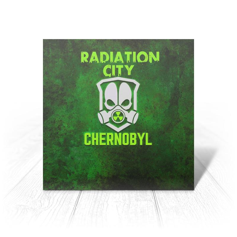 Printio Чернобыль открытка printio криппер