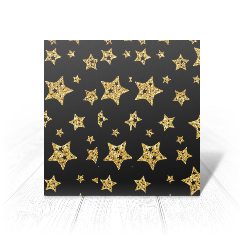 Printio Золотые звезды