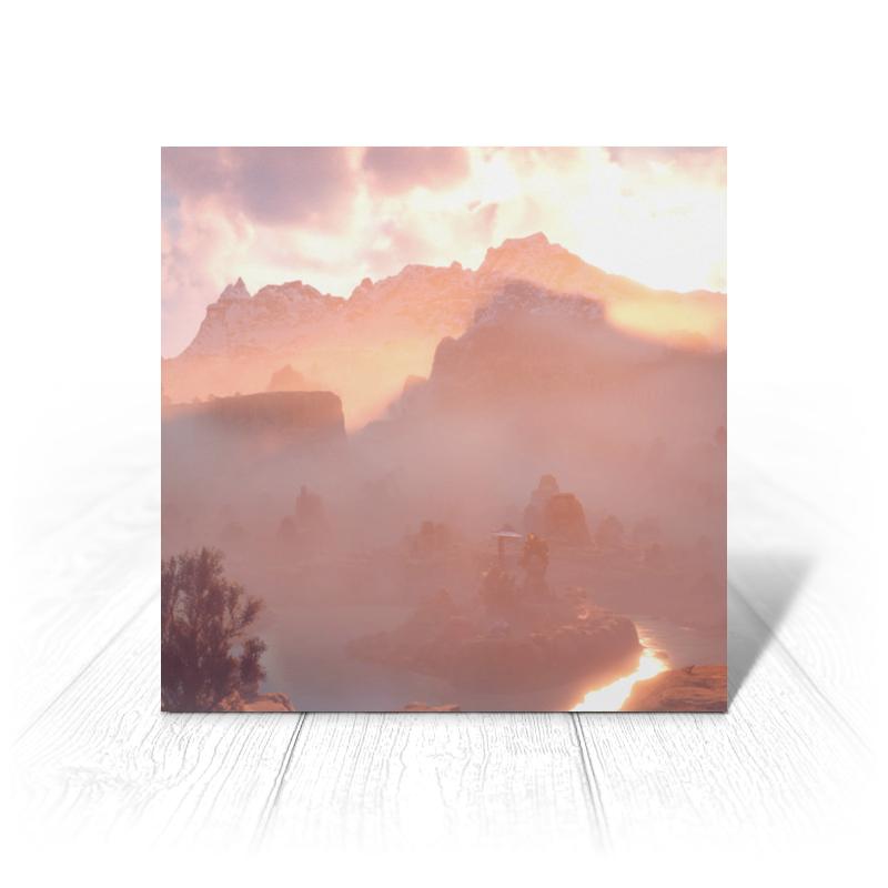 Printio Horizon zero dawn открытка printio horizon zero dawn