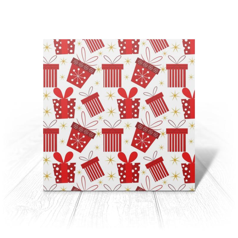 Открытка Printio Подарки сумка printio подарки