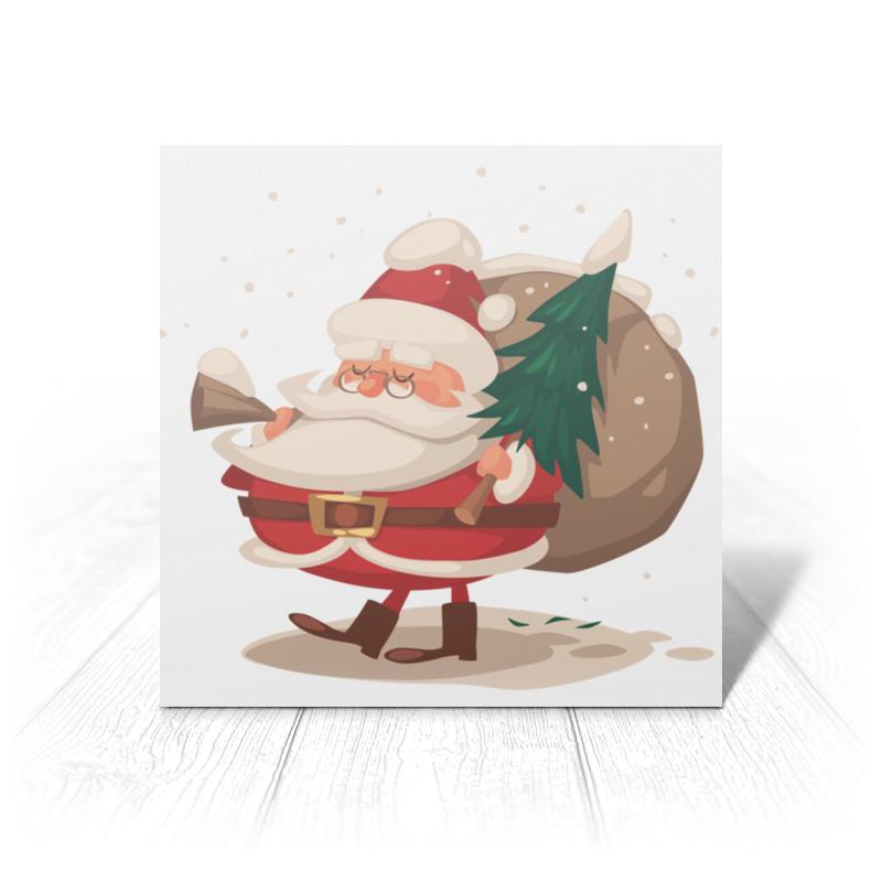 цена на Printio Санта с ёлкой