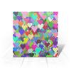 """Открытка """"Валентика Я Тебя Люблю (сердце+сердечки)"""" - праздник, сердце, любовь, 14 февраля, подарок"""