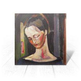 """Открытка """"Женский портрет (картина Ильи Машкова)"""" - картина, портрет, живопись, машков"""