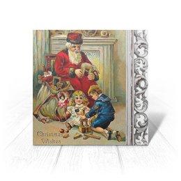 """Открытка """"Рождество. Мечты сбываются"""" - арт, новый год, винтаж, рождество, christmas"""