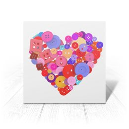 """Открытка """"День всех влюбленных"""" - любовь, день святого валентина, валентинка, i love you, день влюбленных"""