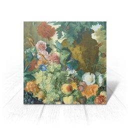 """Открытка """"Фрукты и цветы (Ян ван Хёйсум)"""" - цветы, картина, живопись, натюрморт, ян ван хёйсум"""