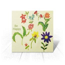 """Открытка """"Весна"""" - любовь, цветы, счастье"""
