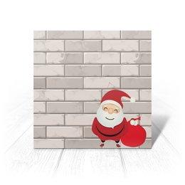 """Открытка """"Santa"""" - новый год"""