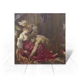 """Открытка """"Самсон и Далила (картина Рубенса)"""" - картина, рубенс"""