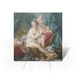 "Открытка ""Туалет Венеры (картина Франсуа Буше)"" - картина, живопись, мифология, франсуа буше, афродита"