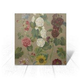 "Открытка ""Цветы (картина Эжена Делакруа)"" - цветы, картина, живопись, делакруа, романтизм"