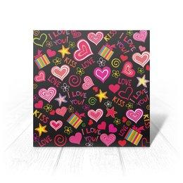 """Открытка """"любовь"""" - новый год, сердца, любимой, день рождение"""