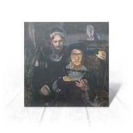 """Открытка """"Гамлет и Офелия (картина Михаила Врубеля)"""" - картина, живопись, шекспир, литература, врубель"""