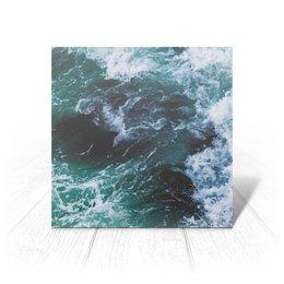 "Открытка ""Бескрайнее море"" - море, океан, парус, шторм, deep"