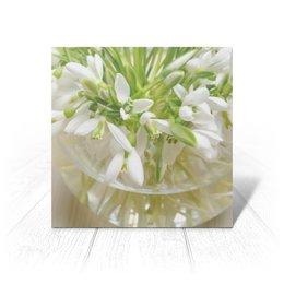 """Открытка """"Подснежники"""" - праздник, 14 февраля, 8 марта, подарок, цветочки"""