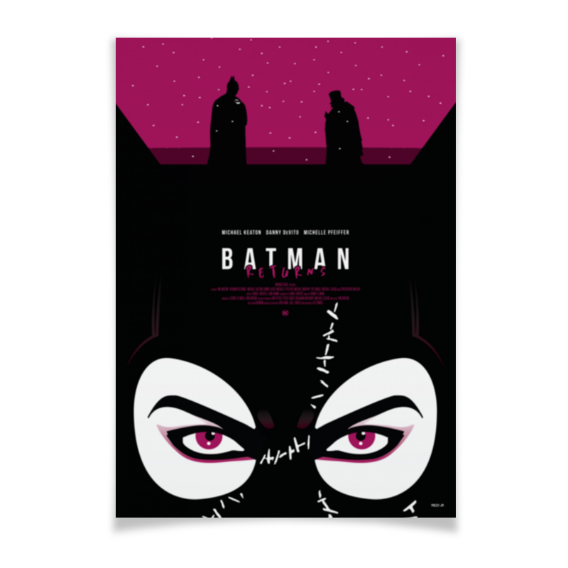 Плакат A3(29.7x42) Printio Бэтмен: начало / batman begins плакат a3 29 7x42 printio лего фильм бэтмен the lego batman movie