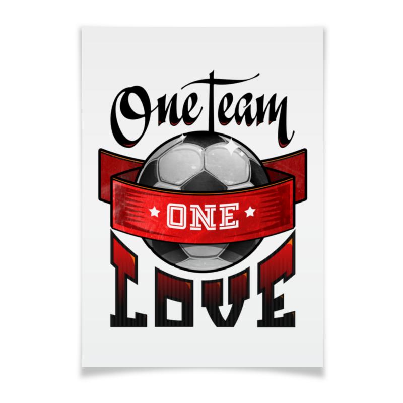 Плакат A3(29.7x42) Printio Football poster