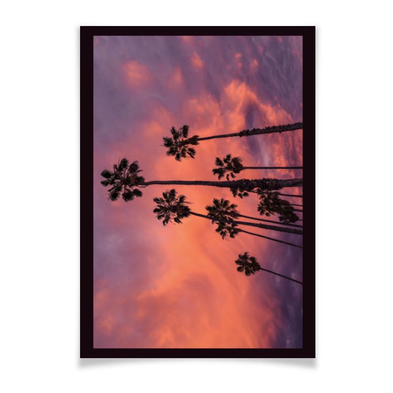 Плакат A3(29.7x42) Printio Пальмы