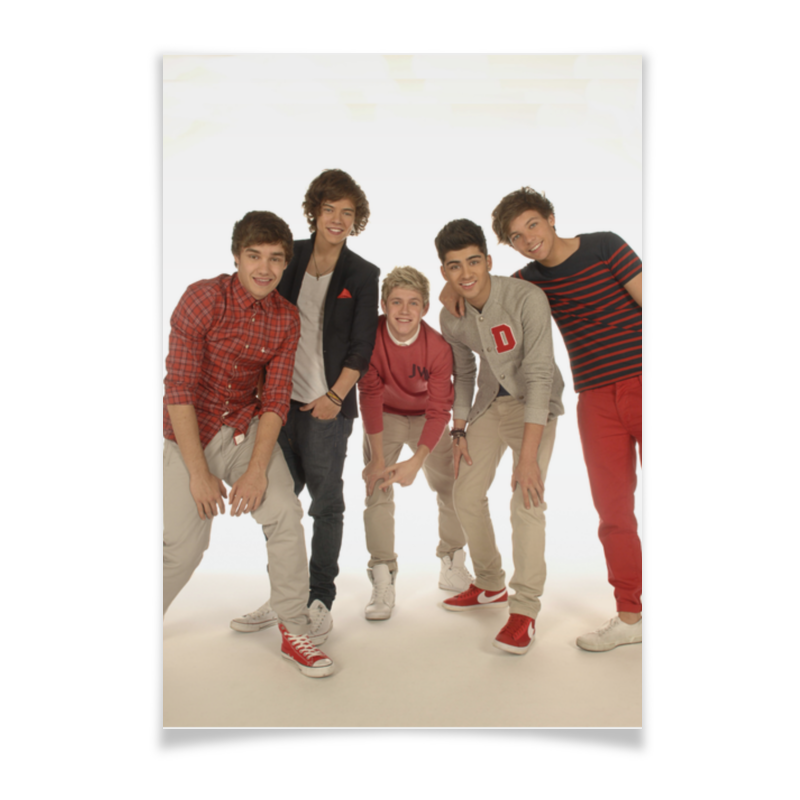 Плакат A3(29.7x42) Printio One direction louis tomlinson one direction signed 8x10 photo