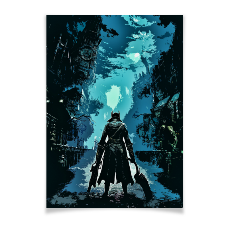 Плакат A3(29.7x42) Printio Bloodborne мистраль рис акватика mix 500 г