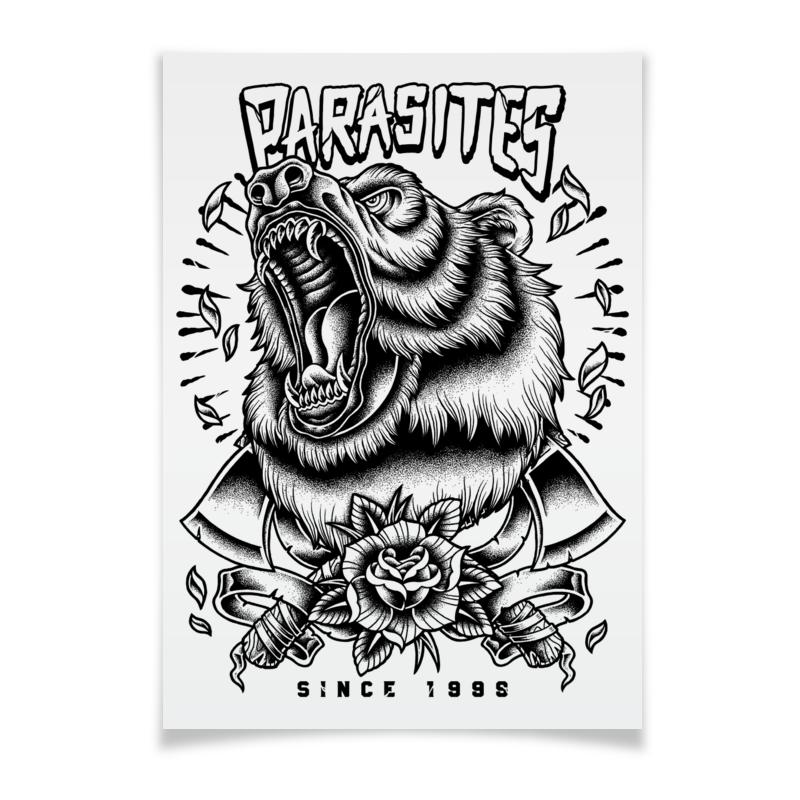 Плакат A3(29.7x42) Printio Grizzlie плакат a3 29 7x42 printio бэтмен