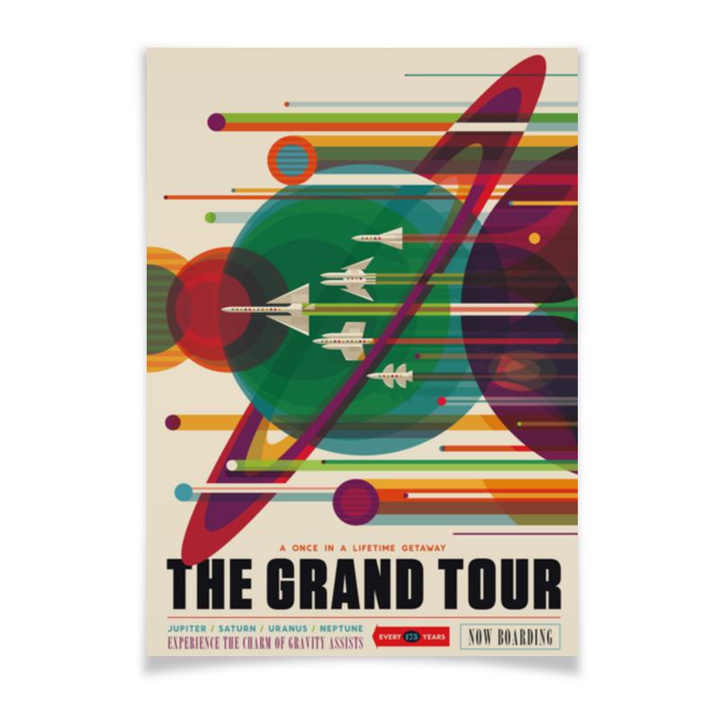 Плакат A3(29.7x42) Printio Космический туризм