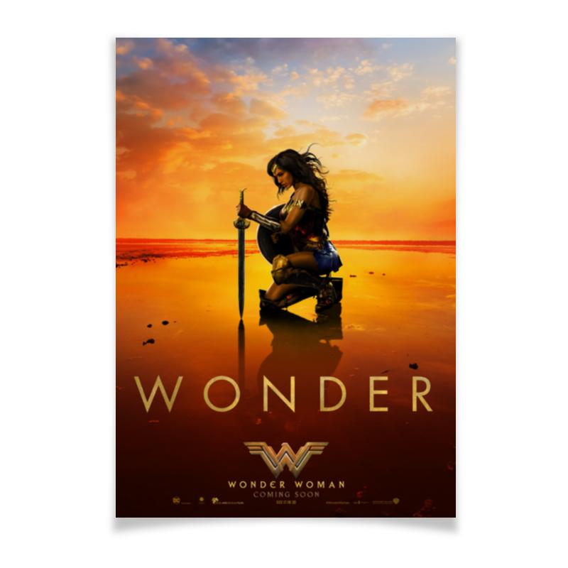 Плакат A3(29.7x42) Printio Чудо-женщина / wonder woman чехол для iphone 6 глянцевый printio чудо женщина wonder woman