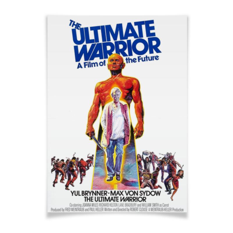 Плакат A3(29.7x42) Printio Последний воин / ultimate warrior последний патрон