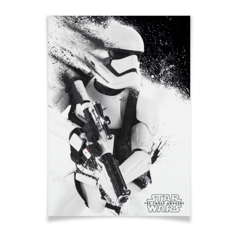Плакат A3(29.7x42) Printio Штурмовик плакат a3 29 7x42 printio штурмовик