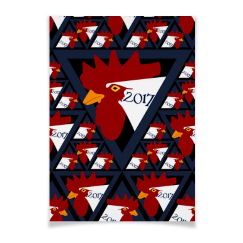 Плакат A3(29.7x42) Printio Год петуха sula эвкалипт ментол леденцы 18 г