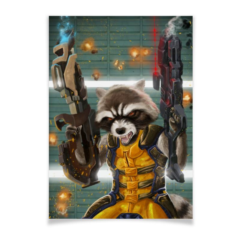 Плакат A3(29.7x42) Printio Ракета плакат a3 29 7x42 printio бэтмен