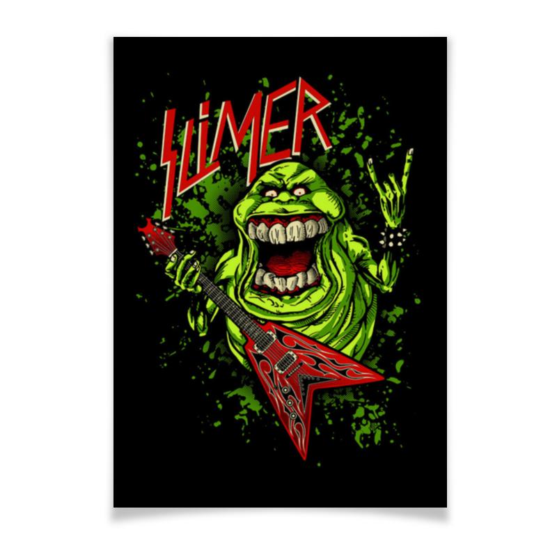 Плакат A3(29.7x42) Printio Лизун/slayer тетрадь на скрепке printio лизун slayer