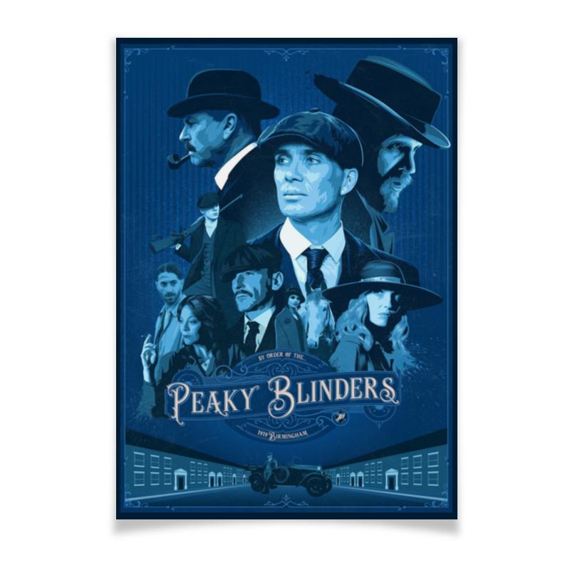 Плакат A3(29.7x42) Printio Острые козырьки / peaky blinders