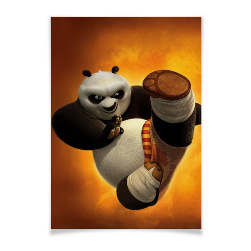 Плакат A3(29.7x42) Printio Кунг-фу панда кунг фу панда2 blu ray