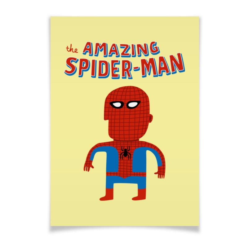 Плакат A3(29.7x42) Printio Человек-паук majorette радиоуправляемый мотоцикл человек паук 3089752
