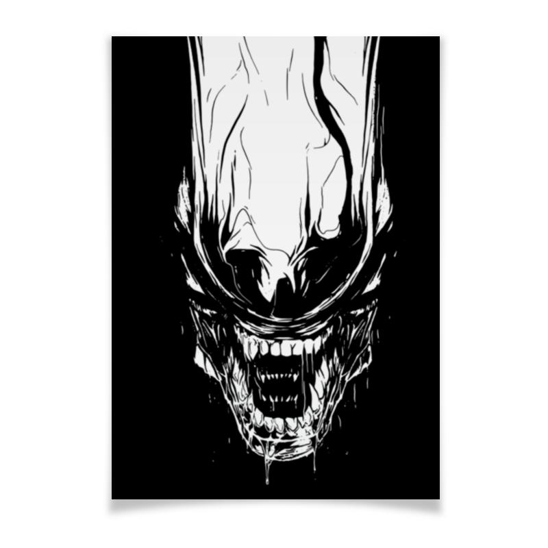 Плакат A3(29.7x42) Printio Xenoblack плакат a3 29 7x42 printio рисунок дедпула