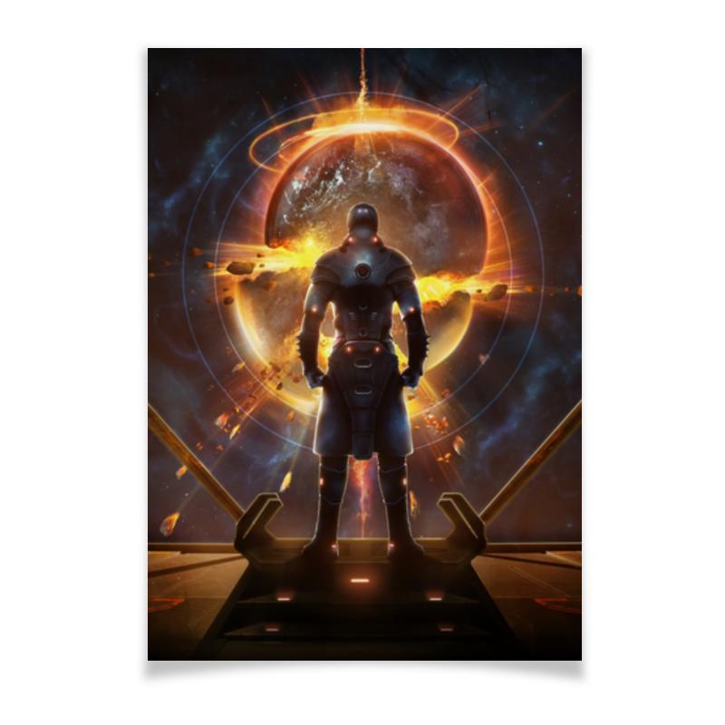 Плакат A3(29.7x42) Printio Starpoint gemini warlords