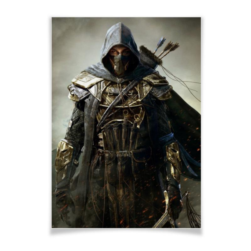 Плакат A3(29.7x42) Printio Elder scrolls игра софтклаб the elder scrolls iii morrowind game of the year edition