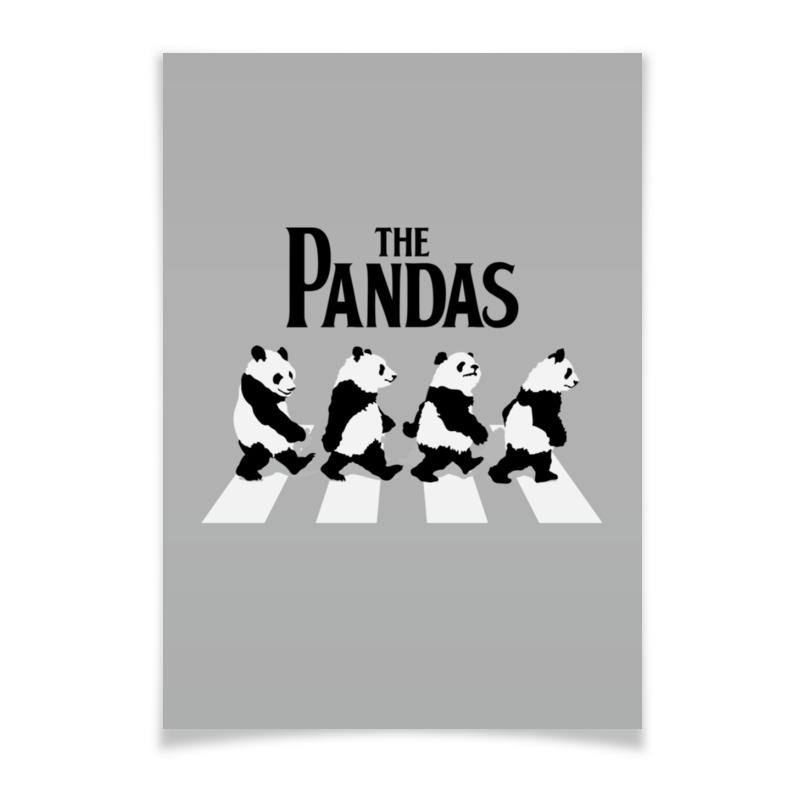 Плакат A3(29.7x42) Printio The pandas. панды плакат a3 29 7x42 printio beatles