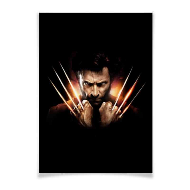 Плакат A3(29.7x42) Printio Росомаха плакат a3 29 7x42 printio росомаха логан wolverine