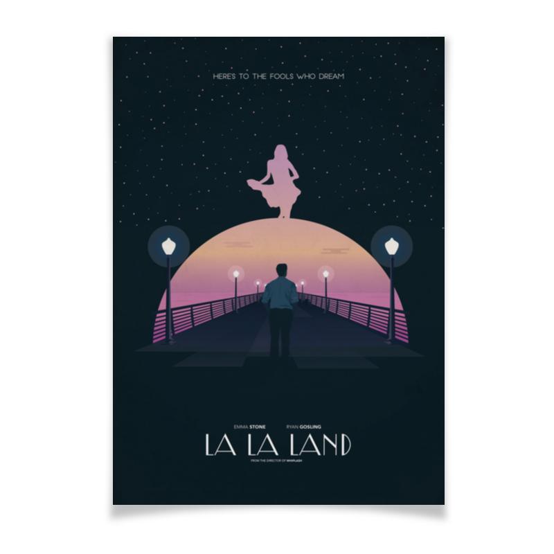 купить Плакат A3(29.7x42) Printio Ла-ла ленд / la la land недорого