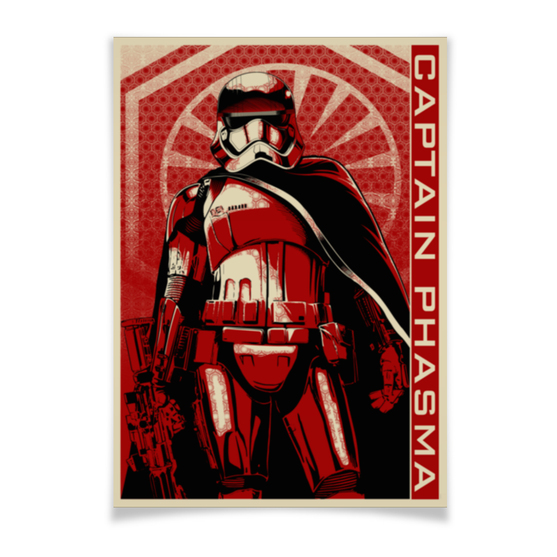 Плакат A3(29.7x42) Printio Капитан фазма плакат a3 29 7x42 printio северус