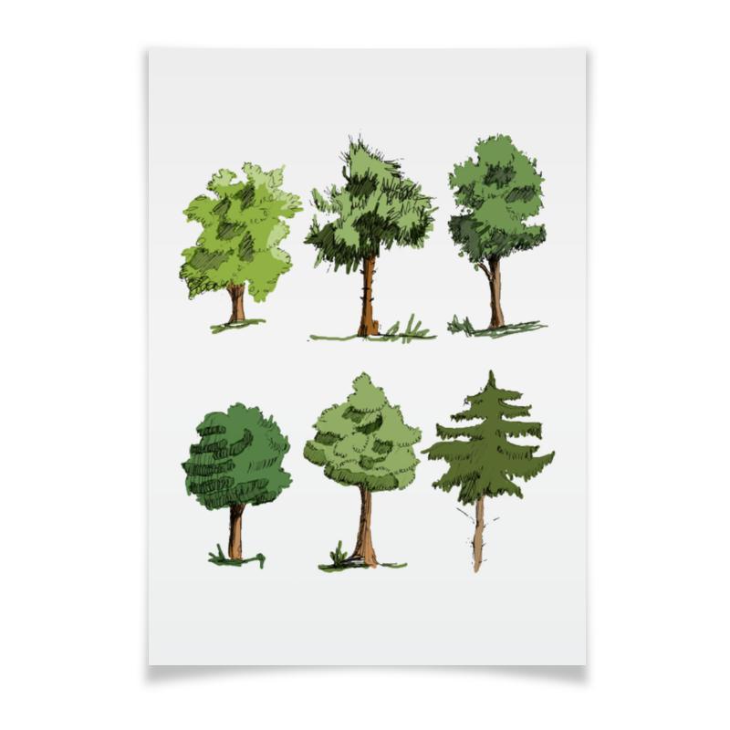 Плакат A3(29.7x42) Printio Сказочный лес лесик е сказочный лес isbn 9785170952458