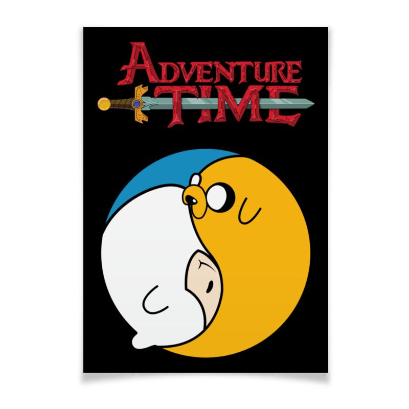 Плакат A3(29.7x42) Printio Adventure time / время приключений плакат a3 29 7x42 printio adventure time got your six
