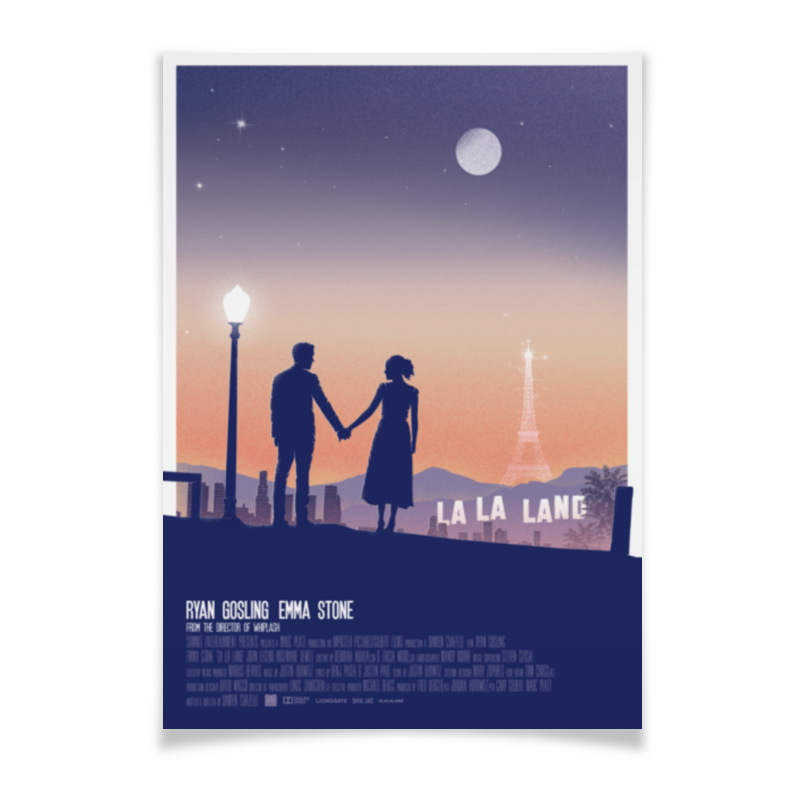 Плакат A3(29.7x42) Printio Ла-ла ленд / la la land камилла де ла бедуайер луис комфорт тиффани лучшие произведения