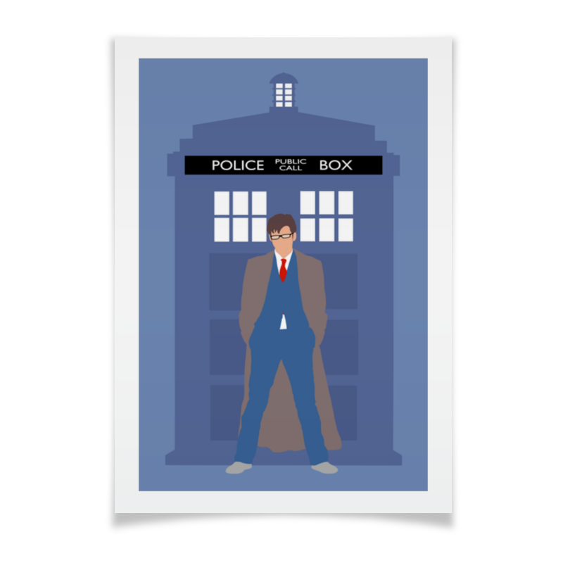 Плакат A3(29.7x42) Printio Доктор кто / doctor who доктор кинси